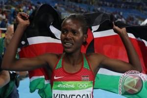 Pelari Kenya Kipyegon tambah gelar dunia dengan raih emas 1.500m