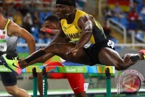 OLIMPIADE 2016 - McLeod rebut emas 110m halang rintang untuk Jamaika