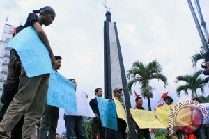 Aksi Solidaritas Wartawan Di Bogor