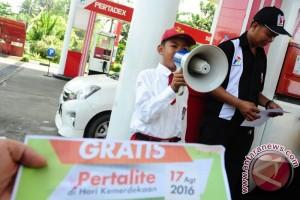 Pertamina promo Pertalite gratis rayakan kemerdekaan RI