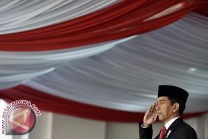 President Jokowi leads Independence Day ceremony at Merdeka Palace