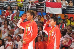 Olympic gold medal in badminton boosts Indonesia`s position in medals table