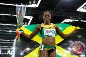 OLIMPIADE 2016 - Elaine Thompson sabet emas kedua sprint atletik