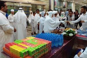 Kedatangan Jemaah Indonesia Perdana Di Makkah