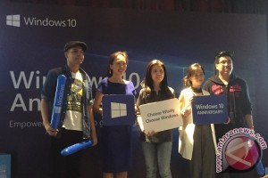 Windows 10 bawa 200 kapabilitas di ulang tahunnya