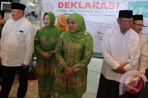 Mensos Deklarasi Laskar Anti Narkoba Di Palembang