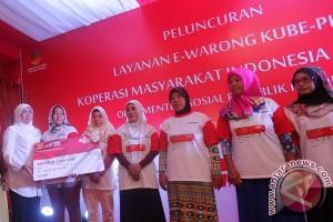 Peluncuran E-Warong Palembang