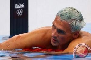 Berbohong dirampok di Brasil, perenang Lochte ditinggalkan sponsor