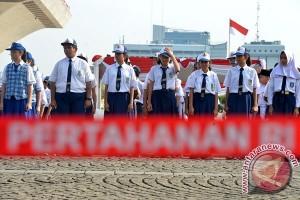 SMA Negeri 4 Magelang latihan bela negara di Akademi Militer