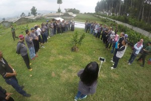 Alumni IPB angkatan 20 gelar aksi sosial