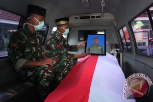 Prajurit TNI Gugur Akibat Karhutla