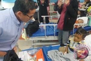 Sandiaga kunjungi pasien thalasemia di RSCM