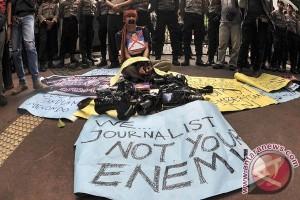 Aksi Tolak Kekerasan Terhadap Jurnalis