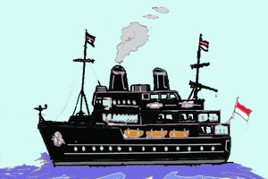 Antara doeloe: 6 Kapal baru untuk Indonesia dari Nederland