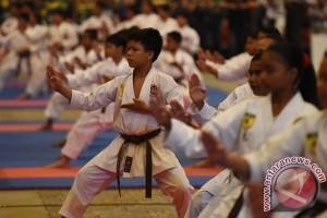 Indonesia peringkat dua kejuaraan karate di Vietnam