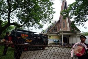 Gereja Diteror Bom Di Medan