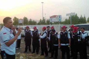 Petugas Perlindungan Jemaah Haji