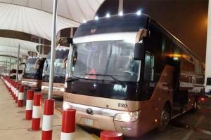 Bus Jemaah Haji Indonesia
