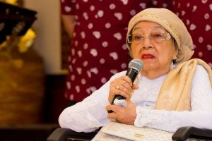 Indonesian revolutionary leader Bung Tomo`s wife passes away