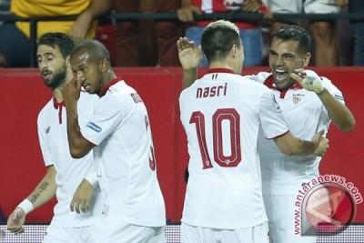 Kalahkan Atletico 1-0, Sevilla ke puncak klasemen