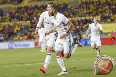 Real Madrid vs Las Palmas imbang 2-2