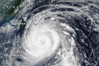 China dilanda badai, sekolah tutup dan penerbangan dibatalkan