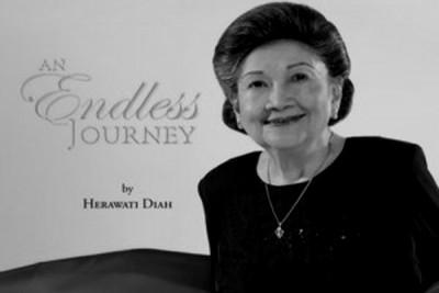 Tokoh pers Herawati Diah berpulang di usia 99 tahun