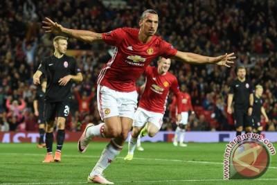 Manchester United kalahkan Zorya berkat gol Ibrahimovic