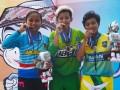 Jatim Raih Emas BMX Women Elite