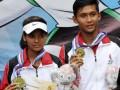 Emas Tenis Ganda Campuran Papua