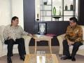 Menperin Menerima Kunjungan Gubernur Kaltara