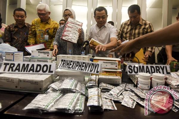 pengungkapan obat ilegal foto antara news