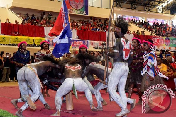 18 Kabupaten Ikut Festival Seni Kreasi Papua