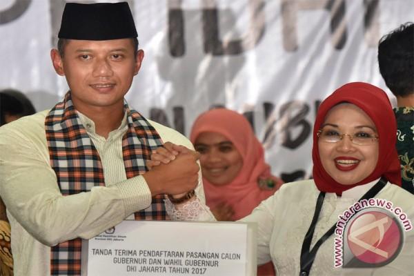 SBY Temani Agus Jelang Pengesahan Pasangan Cagub-cawagub