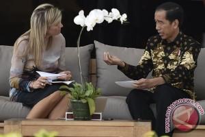 Presiden Jokowi dan Ratu Maxima bahas inklusi keuangan