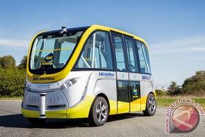 Australia uji coba bus listrik tanpa pengemudi di Perth