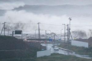 Topan Malaka hantam Jepang, puluhan penerbangan dibatalkan