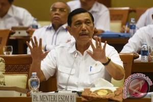 Luhut mengaku presiden sudah siapkan nama menteri ESDM