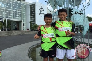 Dua bersaudara Darmo Wongso ingin jadi atlet bulu tangkis dunia