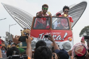 Sambut Kemenangan Tontowi Ahmad dan Liliyana Natsir