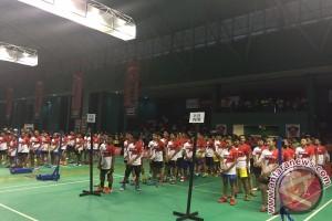 72 peserta audisi bulu tangkis tereliminasi