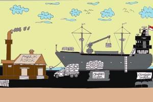 Antara doeloe: Kalangan importir tjengkeh ribut