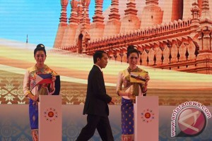 Jokowi dorong kemitraan maritim ASEAN-Jepang