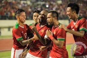 Laga Sepak Bola Indonesia VS Malaysia