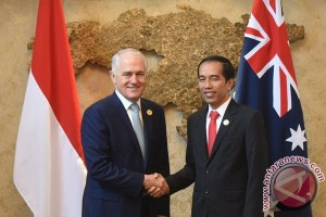 Jokowi, Turnbull agree to strengthen bilateral ties