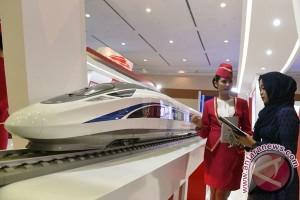 Proyek kereta cepat masuk dalam Raperpres Cekungan Bandung