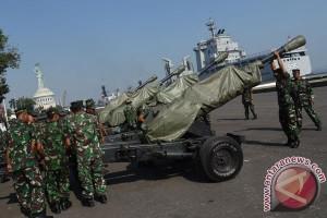 Presiden tiba di Jatim tinjau latihan Armada Jaya