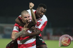 Laga Madura United-Persija digelar di Stadion Pamekasan