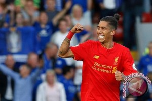 Liverpool ungguli sementara West Brom 1-0