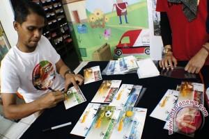 PON 2016 - Prangko seri PON didistribusikan ke seluruh Indonesia